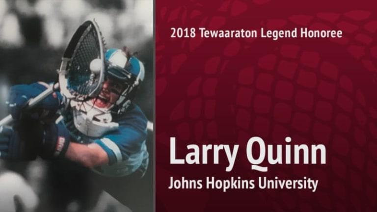 2018 tewaaraton legend - Larry Quinn