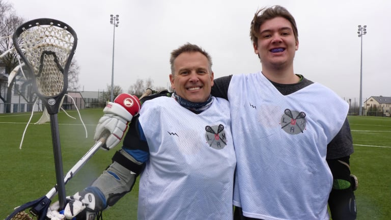 Father-Son Duo Bolster Luxembourg Lacrosse for 2018 World Games Greg and Cole Ritts
