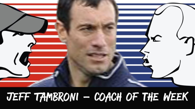 In Your Face Coach of the Week Jeff Tambroni Breschi