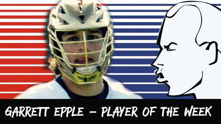 In Your Face PLayer of the week garrett epple