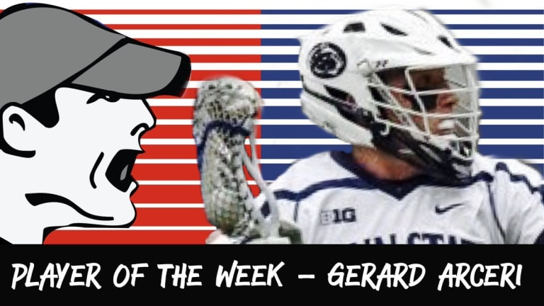 In Your Face PLayer of the week gerard arceri