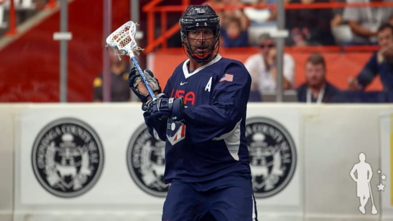 Casey Powell Team USA Settles With Bronze, Defeats Israel 15-4 box lacrosse better