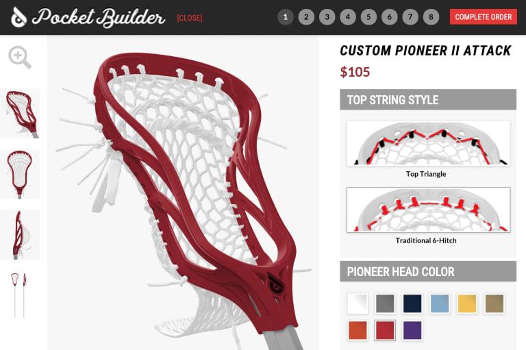 Powell Pioneer II Lacrosse Head