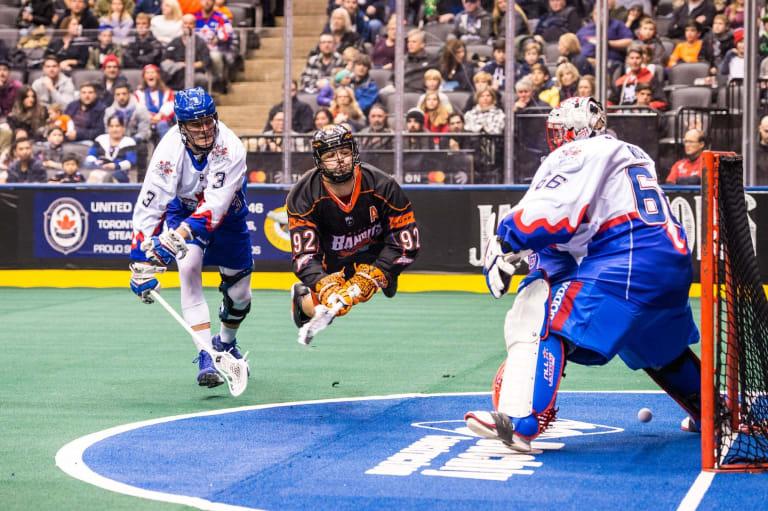 Toronto Rock Buffalo Bandits NLL Week 4 Ryan McCullough