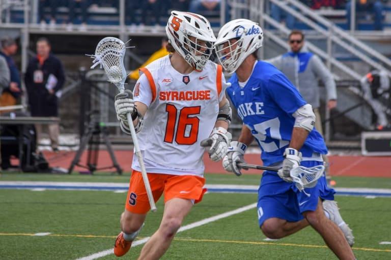 Syracuse OT Win Over No. 2 Duke ncaa lacrosse conference tournament