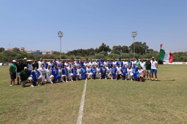 ireland italy 2018 fil men's world lacrosse championships top photos tan group