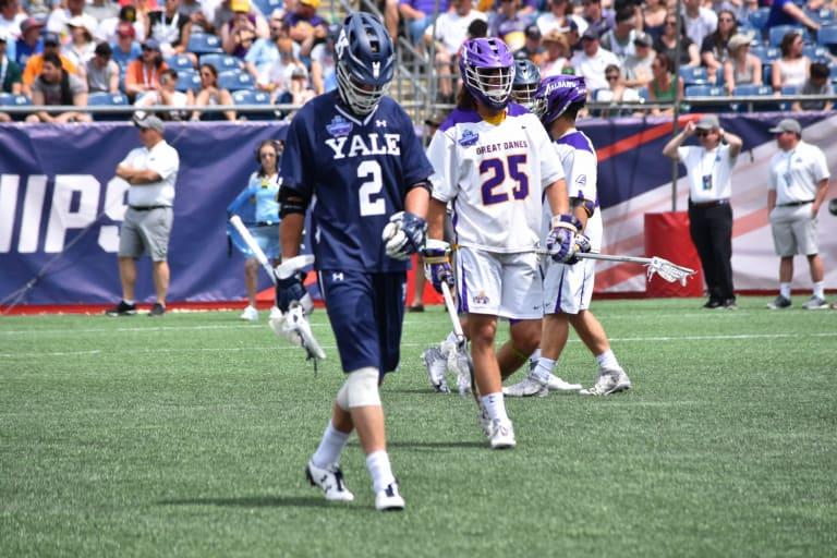 Albany vs Yale 2018 NCAA Semifinals Ryan Conwell ivy league sports lacrosse yale albany america east