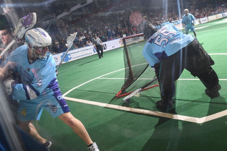 Photo By: Micheline V/ Rochester Knighthawks NLL COlorado Mammoth 2018 Random Thoughts East