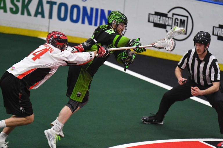 Matthew Dinsdale Saskatchewan Rush Vancouver Stealth NLL 2018