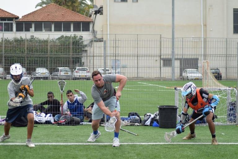 Israel Lacrosse Max Adler Photo: Marek Stor