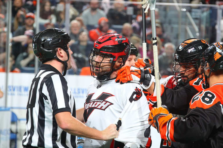 Vancouver Stealth Buffalo Bandits NLL 2018 Photo: Bill Wippert