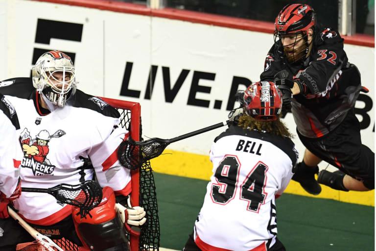 Calgary Roughnecks Vancouver Stealth NLL 2018