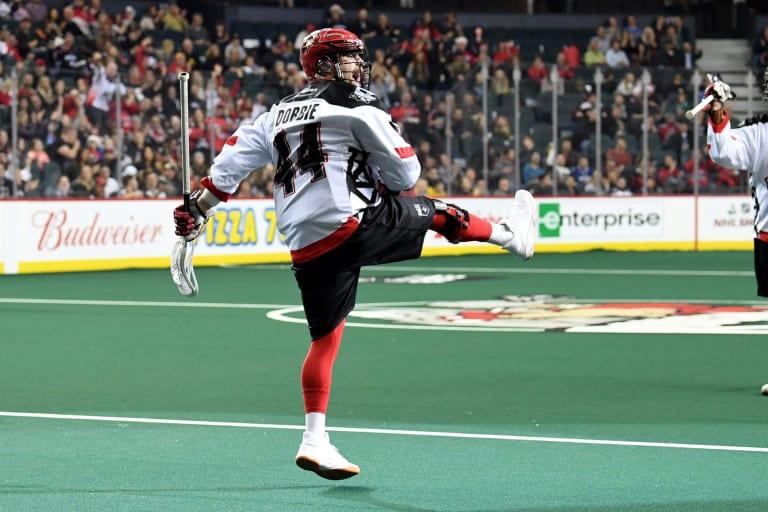 Calgary Roughnecks Dane Dobbie 2018