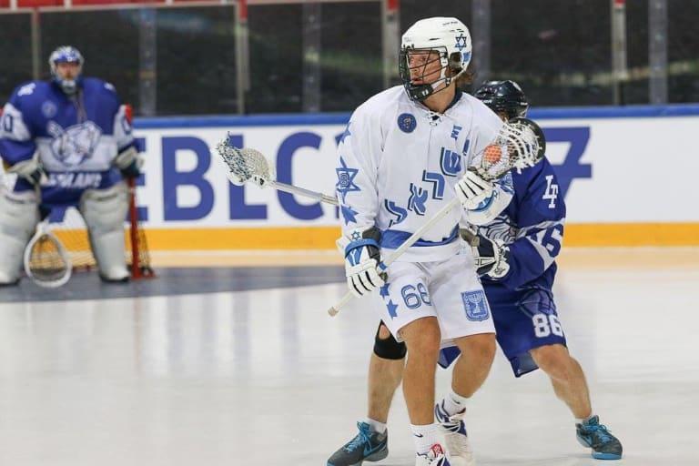 Jean-Luc Chetner Israel box lacrosse Coquitlam Adanacs Israeli lacrosse