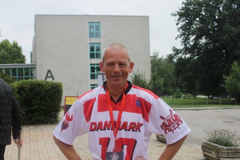 Thorbjørn Denmark lacrosse old guy Danish