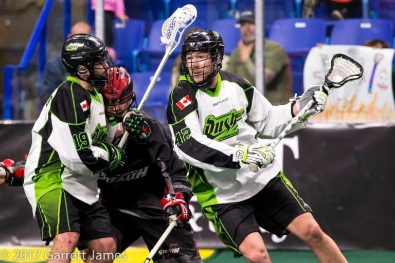 Saskatchewan Rush vs Vancouver Stealth NLL 2017 NLL Media Poll Photo: Jack Dempsey