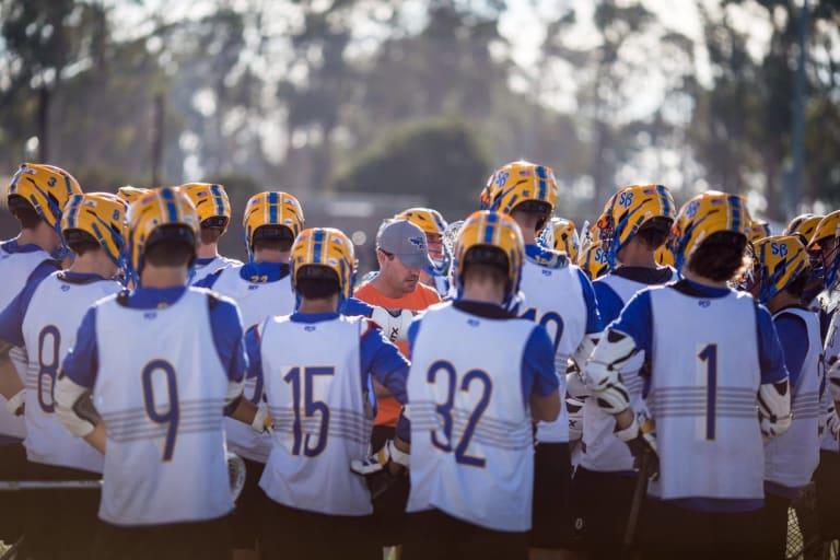 UCSB Gauchos Mens MCLA Lacrosse