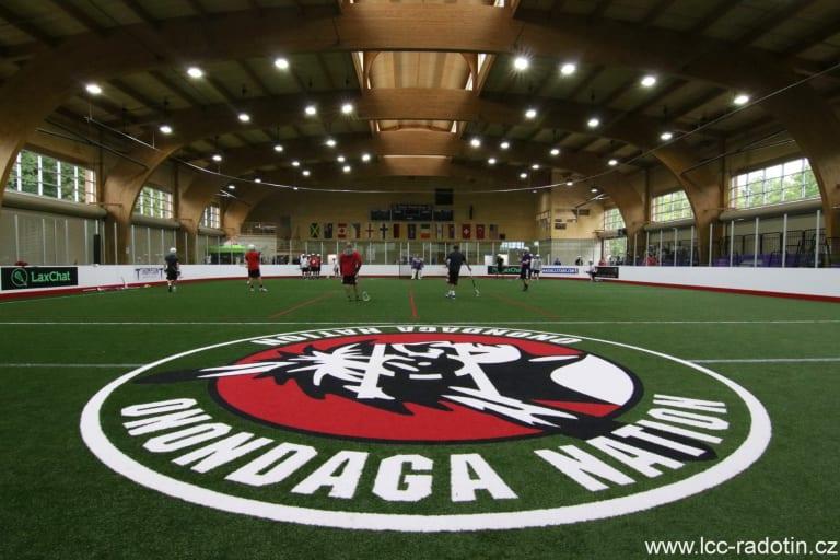 LASNAI 2016, Day 1 - Onondaga Nation Fieldhouse