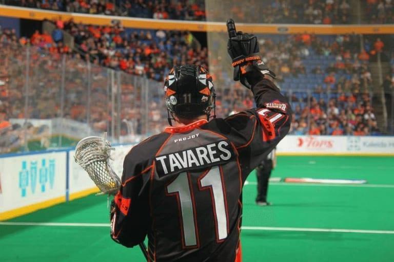 John Tavares Photo: Bill Whippert Buffalo Bandits