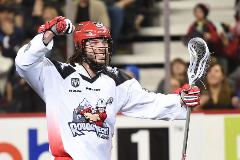 Tyson Bell NLL Week 5 Vancouver Stealth vs Calgary Roughnecks Photo Credit: Candice Ward