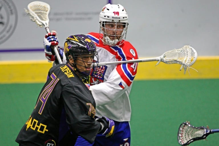 Jeremy Thompson Iroquois Nationals Czech Republic WILC 2015 Coyote Magic