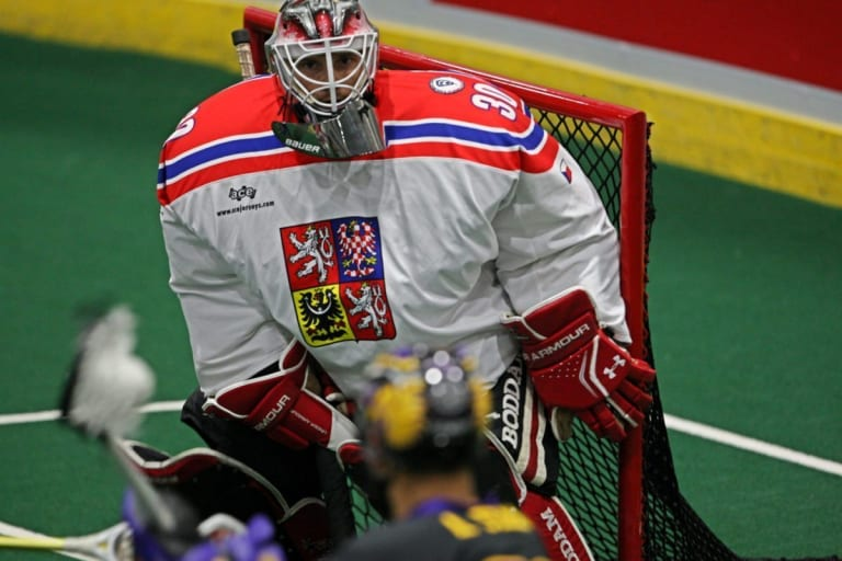 Mike Poulin  Iroquois Nationals Czech Republic WILC 2015 Coyote Magic