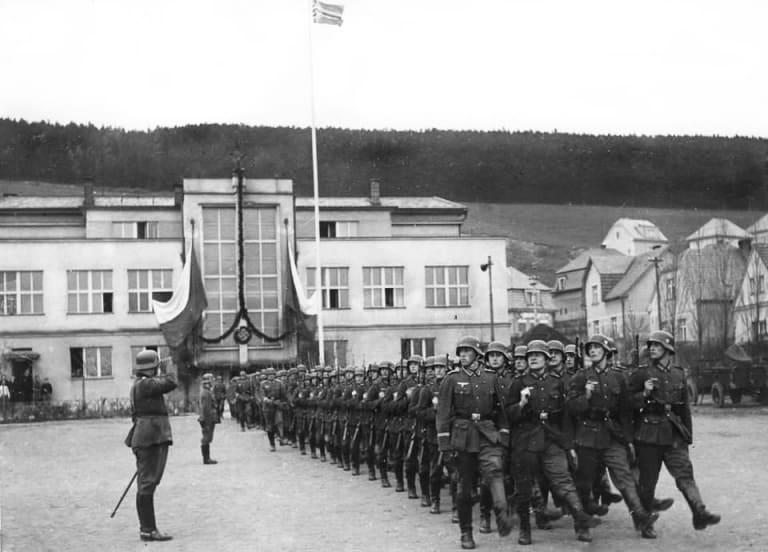 Nazi Prague Radotin Ales Hrebesky Memorial Photo courtesy of LCC Radotin.