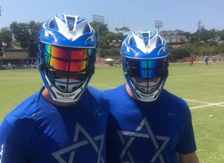 israel lacrosse visor 2018