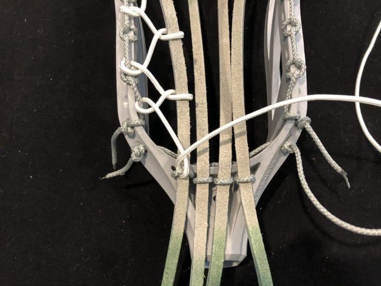 six diamond traditional pocket stringing