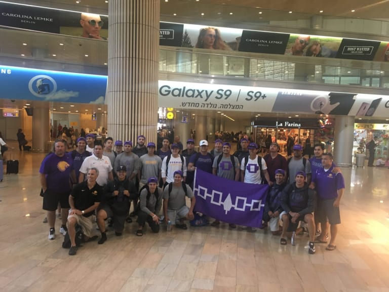 Iroquois National team lands in Israel