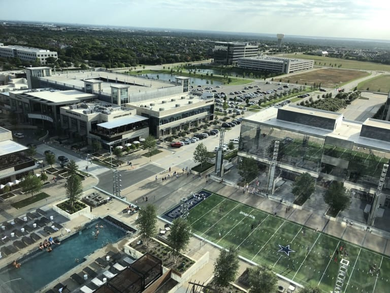 The Star - View from Omni Frisco