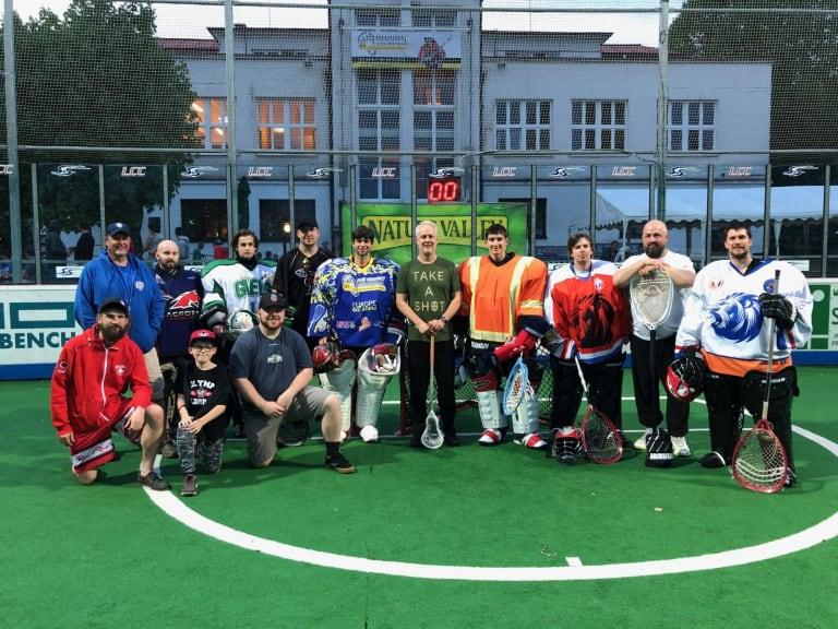 Marty O'Neil MaxLax lacrosse 2018 Ales Hrebesky Memorial