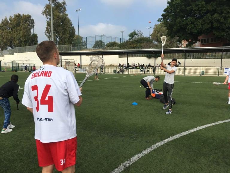 Jerusalem lacrosse israel england