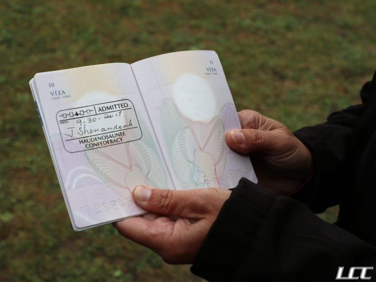 LASNAI Grow The Game Haudenosaunee stamp passport LCC