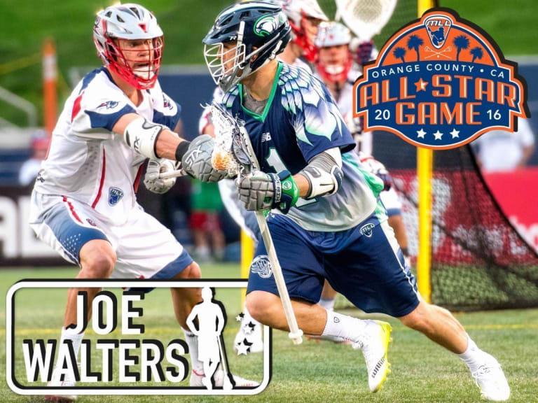 JOE WALTERS - major league lacrosse all stars by brand