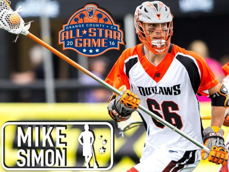 Mike Simon - Major League Lacrosse All Stars by Brand