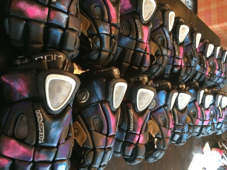 Custom Galaxy Gloves - Lacrosse.com x CruzWorldCustoms