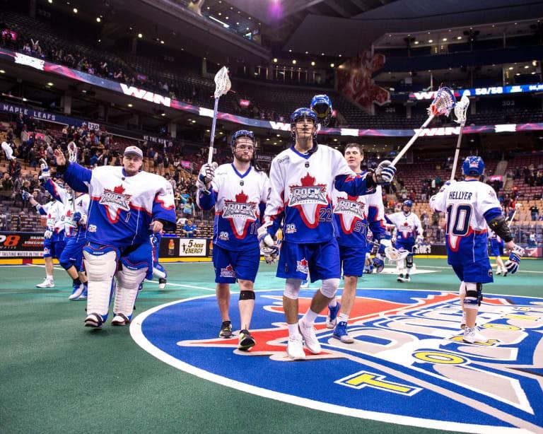 Rochester Knighthawks Toronto Rock NLL 2018 Photo: Ryan McCullough / NLL