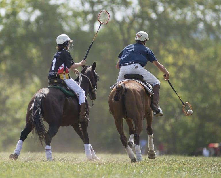 polocrosse - lacrosse on horseback