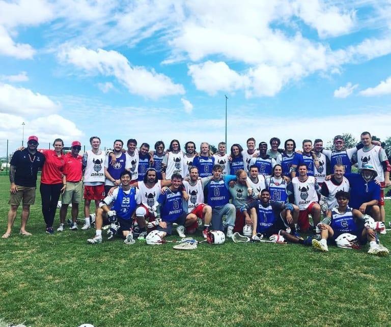 Tennessee Wesleyan University Lacrosse Story of a Danish Helmet: A Complete Team Effort Denmark Lacrosse