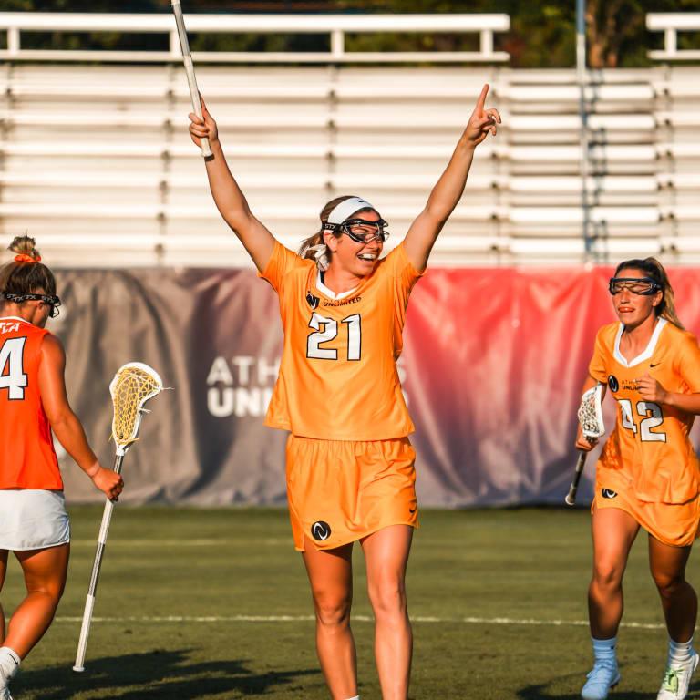 womens pro - Kayla Treanor Celebrates Goal - Game 1