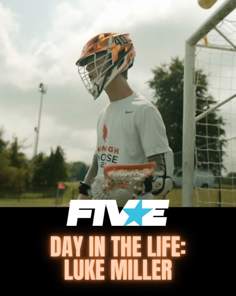 Luke Miller lacrosse a day in the life