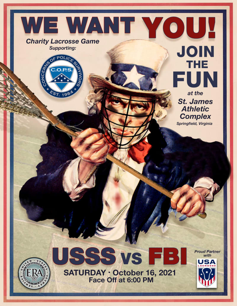 FBI U.S. Secret Service lacrosse game
