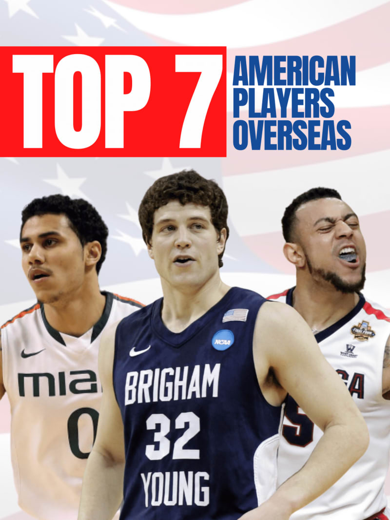 Best American basketball players overseas right now