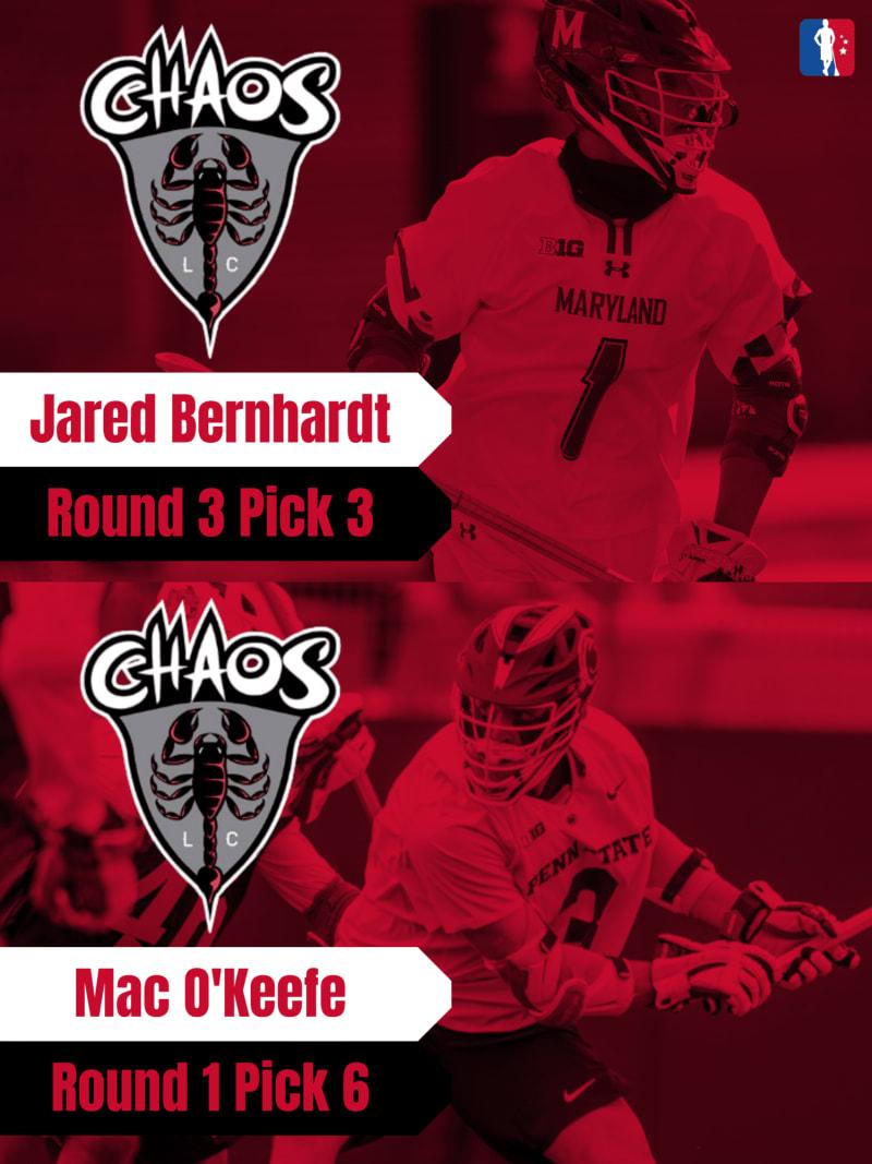 Mac O'Keefe Jared Bernhardt PLL Rookie Spotlights