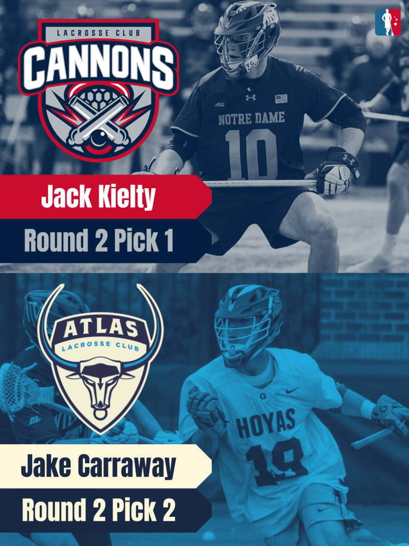 Jake Carraway Jack Kielty PLL Rookie Spotlights