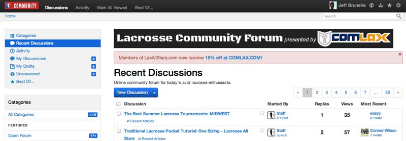 Lacrosse Community Forum presented by ComLax
