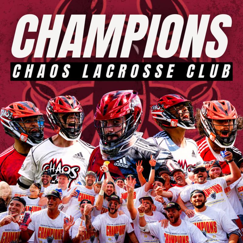 Chaos Lacrosse Club win 2021 PLL championship