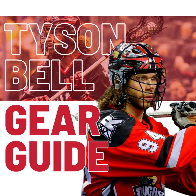 Tyson Bell lacrosse gear