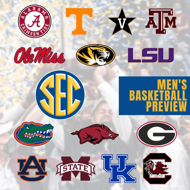 SEC men's basketball preview 2021-22